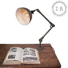 vintage industrial fostoria articulating desk wall mount work l
