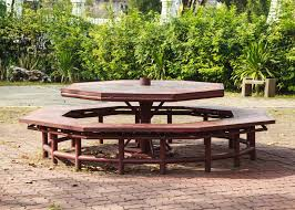 how to build a walk in octagon picnic table ebay