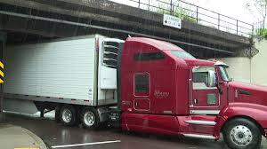 100 Stuck Truck Gets Under Railroad Bridge In Scranton WNEPcom
