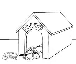 Pluto In Dog House