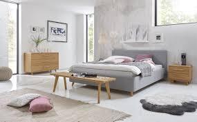 skandinavische möbel aelskar polsterbett in grau möbel