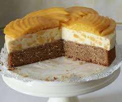 buttermilch mango torte