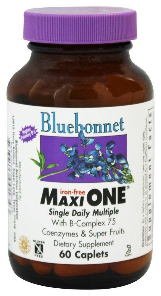 Bluebonnet Nutrition Maxi One Iron Dietary Supplement - 60 Capsules