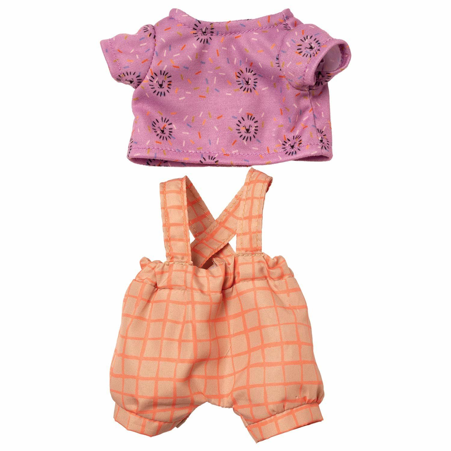 "Manhattan Toy Wee Baby Stella Take Me to The Zoo 12"" Baby Doll Outfit Set"