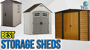4x6 Plastic Storage Shed by 9 Best Storage Sheds 2017 Youtube