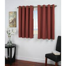 Curtains With Grommets Pattern by Blackout Ultimate Blackout 56 In W X 54 In L Curtain Panel In