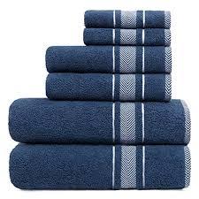 blau handtuch sets und weitere badtextilien günstig
