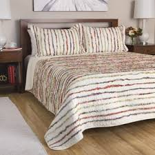Greenland Home Bedding by Greenland Home Fashions Watercolor Dream 3 Piece Cotton Quilt Set