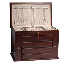 Aria Mahogany Jewelry Armoire With Lock Made From American Hardwood. Bedroom Awesome Country Style Jewelry Armoire Locking Antique Armoires Ideas All Home And Decor Fniture Black With Key And Lock For Home Boxes Light Oak Jewelry Armoire Ufafokuscom Amazoncom Collage Photo Frame Wooden Wall Powell Mirrored Abolishrmcom Organize Every Piece Of In Cool Target Inspiring Stylish Storage Design Big Lots