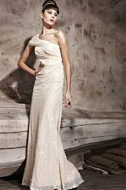 sheath one shoulder sequin glamorous evening gowns at low price