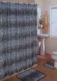 Cheetah Bathroom Rug Set by 19 Best Black White Gray Shower Curtains Images On Pinterest