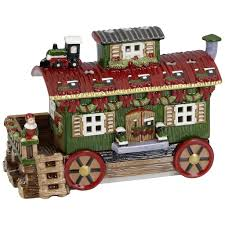 Spode Christmas Tree Village Cookie Jar by Villeroy And Boch Christmas Train Villeroy And Boch Christmas