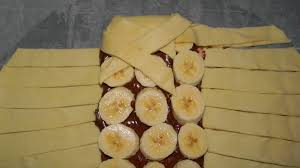 dessert rapide chocolat banane tresse pâte feuilletée chocolat banane facile rapide simple