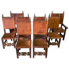 Set Of 8 Baroque Style Leather Dining Room Chairs At 1stdibs Ding Room Chair Leather Design Optic Upholstered Chair Retro Cognac Brown Beige 2er Set Amazing Rooms Chairs Set Cushions Table Michael Anthony Fniture Burnt Orange Oak Nyekoncept Mid Century Eiffel Side Amazoncom Cjc Of 2 Faux Kitchen Chairsbrown Art Deco St030 Transitional Midcentury Modern Dering Hall Mediterrean With Hand Painted Hgtv Christopher Knight Home 298997 Anise Of Green Tea With Casters