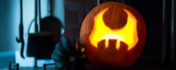 Mario Pumpkin Carving Templates Free by Geeky Game Pumpkin Stencils And How To Carve Them Big Fish