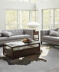 Alessia Leather Sofa Living Room by 15 Sofas Living Room Sets Macy U0027s Microfiber Living Room Furniture