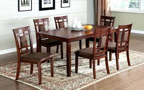 Cherry Wood Dining Room Chairs Table Brilliant Amusing