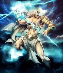 Zeus King Of Gods Thunder Bolt