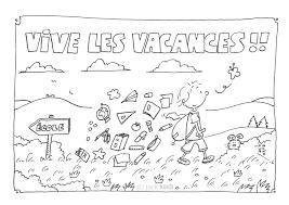 Coloriage Vive Les Vacances Colorier Les Enfants Marnfozinecom