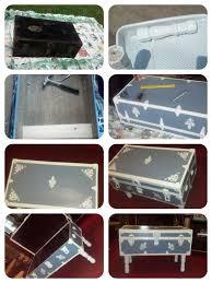 220 best restore a trunk revive a suitcase images on pinterest