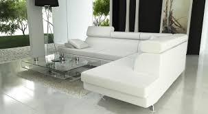 canap d angle en cuir blanc canape angle design avec canap d angle cuir blanc design canap