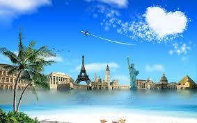 Travel The World HD Desktop Wallpaper Widescreen High