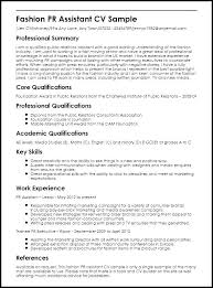 Pr Resume Examples Example Marketing Public Relations Fashion Assistant Sample Analyst Endowed Though Communications