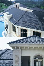 villa roofing tile high quality shingle roofing tiles