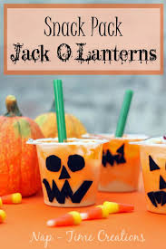Snack Pack Jack O Lantern SnackPackMixins CollectiveBias