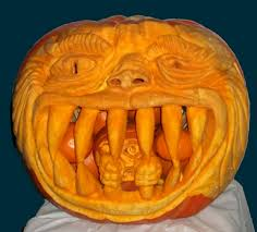 Scariest Pumpkin Carving by Awesomely Scary Pumpkin Carvings For Halloween 15 Photos