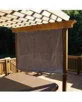 DEAL ALERT Alion Home Mocha Brown Sun Shade Panel Privacy Screen