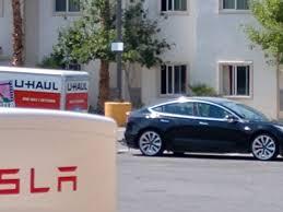 100 U Haul Truck Sizes Tesla Model 3 Spotted Testing Towing Capacity Electrek