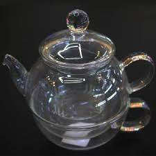 Glass Water Teapot Or Coffee Pot Transparent
