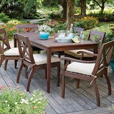 7 Piece Patio Dining Set Walmart by Better Homes And Gardens Cawood Place 7 Piece Dining Set Walmart Com