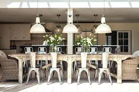 Long Dining Table Farm Thin Tables For