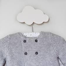 patère chambre bébé decoration chambre bebe nuage