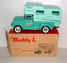 LTD TOY STAMP & 1960s BUDDY-L 14.5