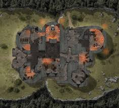 Dungeons And Dragons Tile Mapper by Big Ol U0027 Map Of Cragmaw Castle From Lmop Dnd