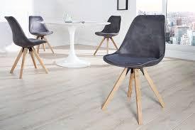 esszimmerstuhl antik grau eiche retro design stuhl dunord