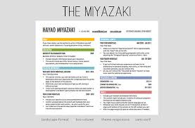 Cool Resume Templates Images