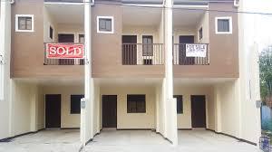 100 Triplex Houses 52sqm Brandnew House For Sale In Katarungan Village