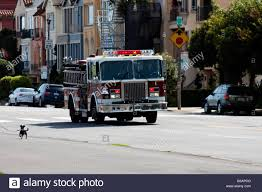 100 Truck Emergency Lights Firetruck Going To Call City Stock Photo 103499328