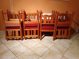 8 stühle vintage tischler landhausstil