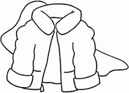 288x208 black and white jacket clipart