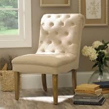 Kirklands Dining Chair Cushions by Beige Tufted Linen Slipper Chair Kirklands