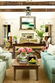 Source Southern Living Cottage Room Features White Paneled