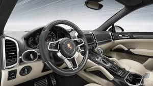 2016 Porsche Cayenne Turbo S Interior