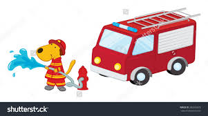 100 Fire Truck Clipart Truck Dog Clipart Collection