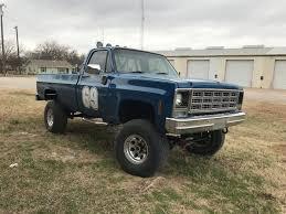 100 Varsity Blues Truck 1979 Chevrolet K20 Pickup Vintage Mudder Reviews Of Classic 4x4s