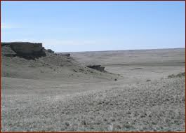 Agate Fossil Beds National Monument by Agate Fossil Beds National Monument Harrison Nebraska America